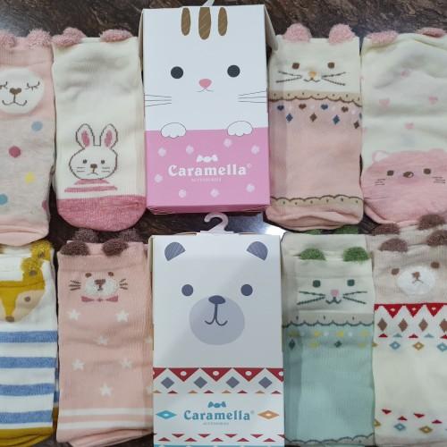Foto Produk Caramella Kids Socks set of 4   Kaos Kaki Anak Caramella dari Toko Toucan