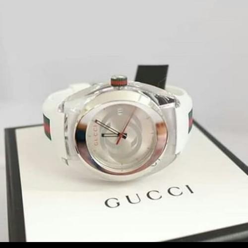 Foto Produk jam tangan Gucci original sync XXL white,navy,red dari samyang777shop