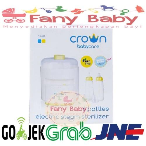 Foto Produk Crown Sterilizer 6 Bottle / Sterilisasi Botol Susu Bayi - Kuning dari Fany Baby ITC Kuningan