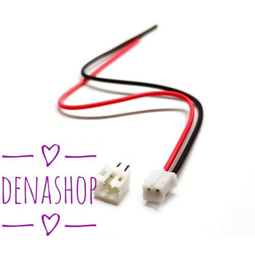 Foto Produk Mini Mikro micro JST 2.0 PH 2Pin Connector plug 2P Konektor dari denashop