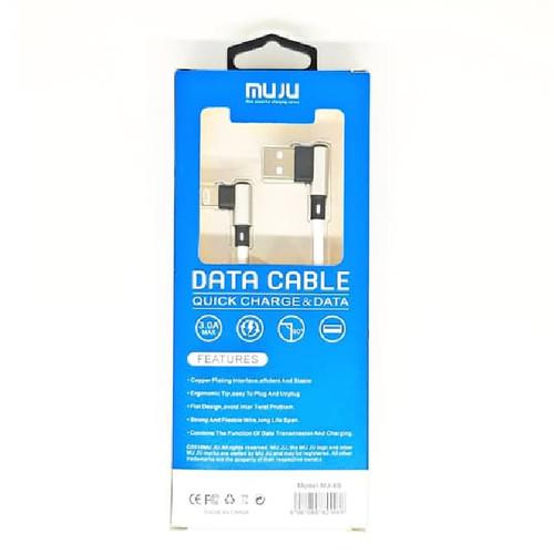 Foto Produk SKU-1122 KABEL USB LIGHTNING QUICK CHARGE 3A MUJU MJ-65 IPHONE MJ65 dari VN STORE ONLINE
