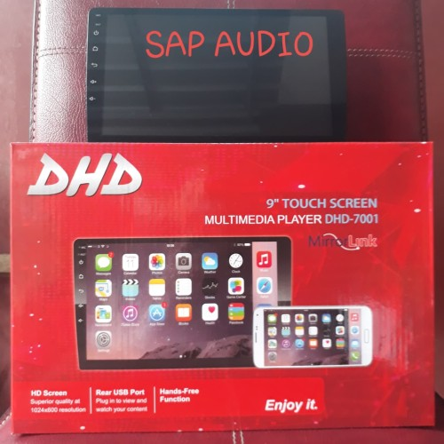 """Foto Produk Head unit dhd-7001 android 9"""" double din dhd-7001 android 9 inch dari SAP AUDIO"""