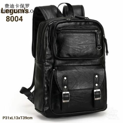 Foto Produk tas ransel kulit PU leader asli tas pria dan wanita tas import dari Alya Putri coll
