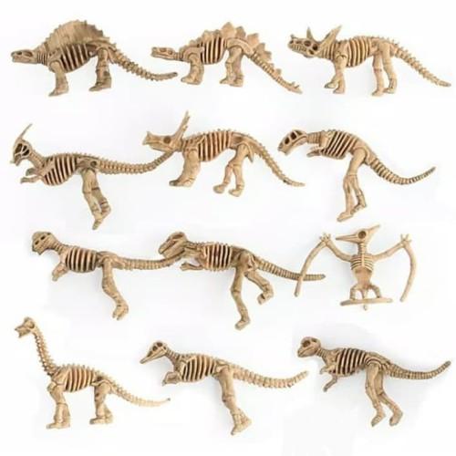 Foto Produk 12pc mainan fosil dinosaurus dari hadysell