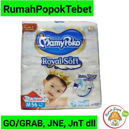 Foto Produk Mamypoko Mamy poko Royal Soft extra dry m56 dari rumah popok tebet