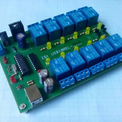 Foto Produk USB-10REL + Kabel Data dari USBINOV