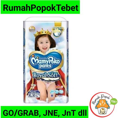 Foto Produk MamyPoko Royal Soft XL 30 Girls dari rumah popok tebet