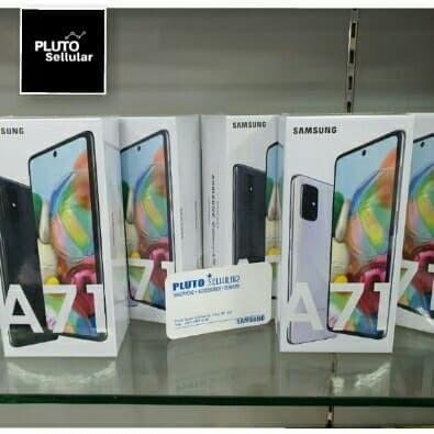 Foto Produk Samsung Galaxy A71 8/128Gb Grs resmi Sein - Hitam dari Pluto sellular
