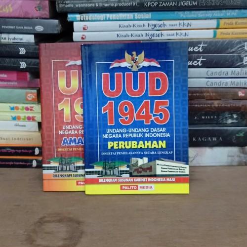 Foto Produk UUD 1945 Amandemen Kabinet 2019-2024 Kecil dari chelsea book