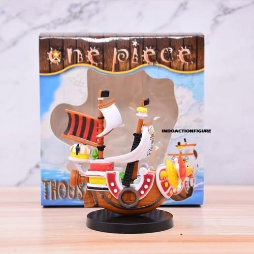Foto Produk Action figure One Piece Kapal Luffy thousand sunny go mini 10cm pvc dari IndoActionFigure