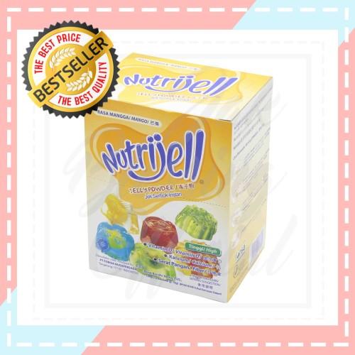 Foto Produk Nutrijell jelly Powder Rasa Mangga 15g/sc dari Jak Blessing Official