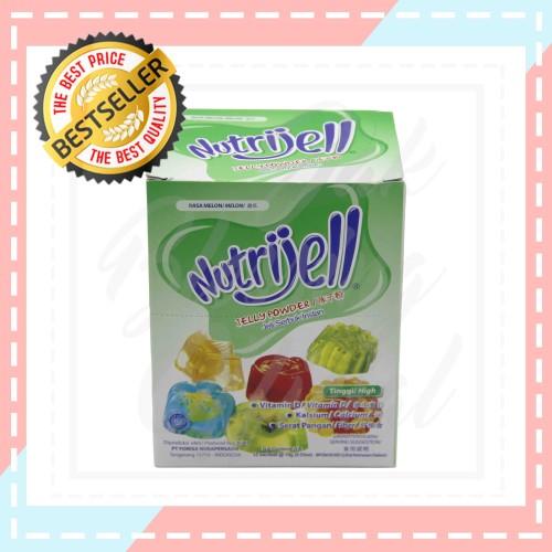 Foto Produk Nutrijell jelly Powder Rasa Melon 15gr/sc dari Jak Blessing Official