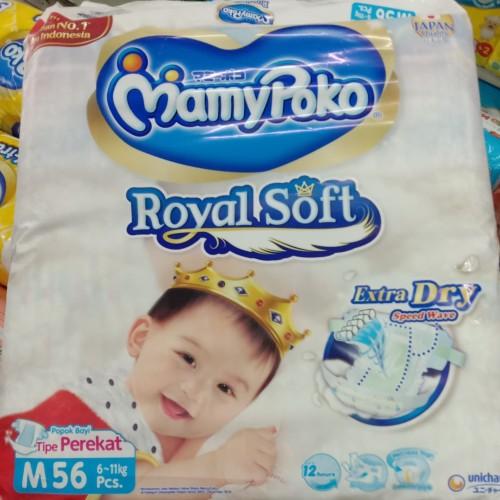 Foto Produk mamypoko mami poko mamy poko Extra Dry M 56 popok bayi perekat dari Warunk baby