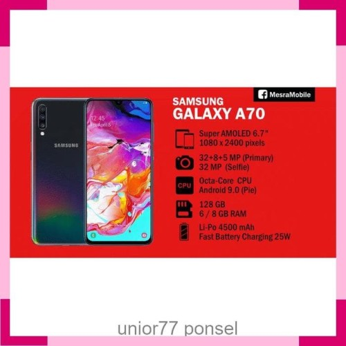 Foto Produk Samsung Galaxy A70 8+128 GB dari unior77 ponsel