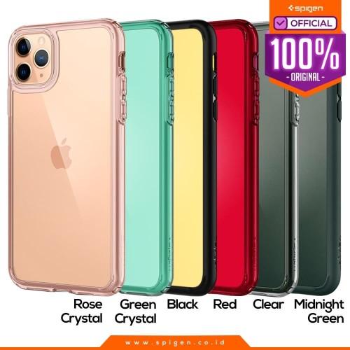 Foto Produk Case iPhone 11 Pro Max / 11 Pro / 11 Spigen Ultra Hybrid Anti Crack - Matte Black, 11 Pro Max dari Spigen Official