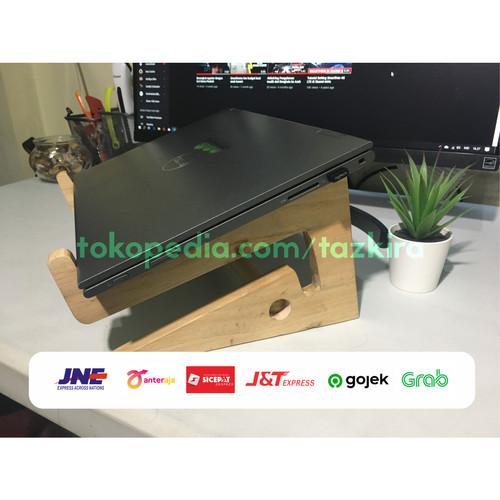 Foto Produk Wood Stand Laptop / Stand Laptop Kayu - Cokelat dari Taz-Store