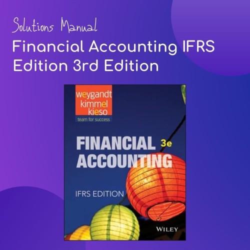Jual Kunci Jawaban Solutions Manual Financial Accounting Ifrs Edition 3e Kota Bandung Solutions Manual Tokopedia