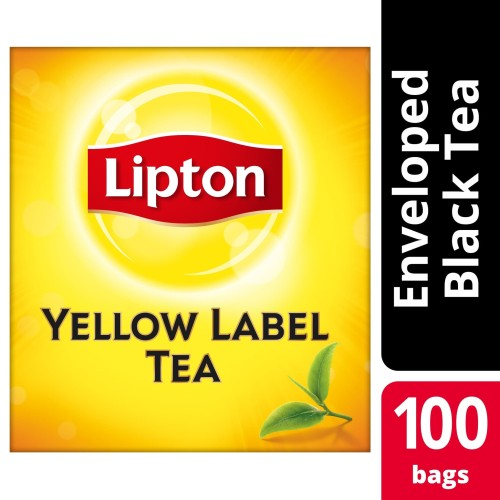 Foto Produk Lipton Yellow Label 100 Tea Bag Envelope dari Unilever Food Solution