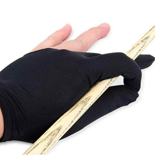 Foto Produk Sarung Tangan Biliar / 3 Finger Billiard Gloves / 3 Fingers Gloves dari atikaonlshopping