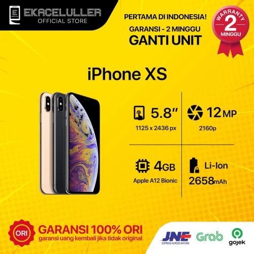 Foto Produk IPHONE XS 256GB ALL COLOUR SECOND dari Ekacelullersurabaya