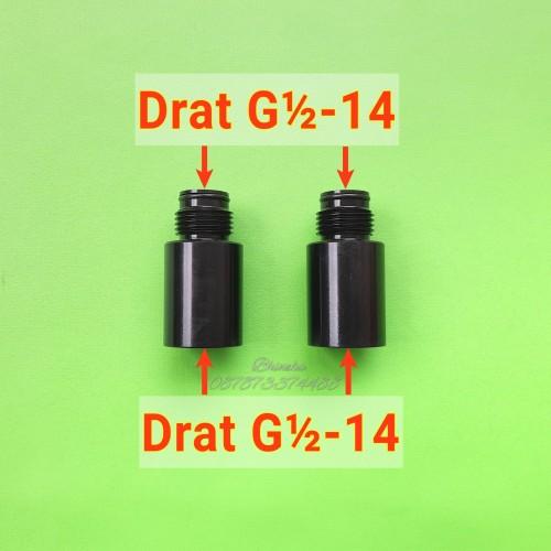 Foto Produk Adaptor Regulator Drat G½ ke G½ / Regulator Extension Chamber dari Sidic Bhineka Shop