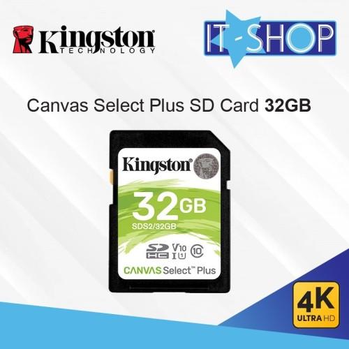 Foto Produk Kingston Canvas Select Plus SD Card - 32GB dari IT-SHOP-ONLINE
