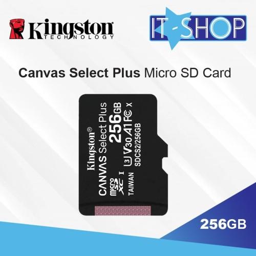 Foto Produk Kingston Canvas Select Plus microSD Card - 256GB dari IT-SHOP-ONLINE