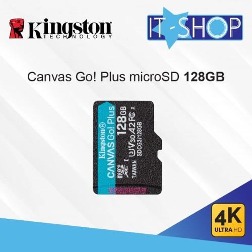 Foto Produk Kingston Canvas Go Plus 4K microSD Card - 128GB dari IT-SHOP-ONLINE