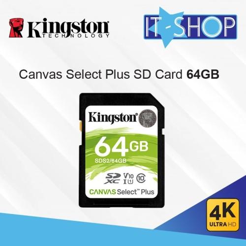 Foto Produk Kingston Canvas Select Plus SD Card - 64GB dari IT-SHOP-ONLINE