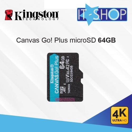 Foto Produk Kingston Canvas Go Plus 4K microSD Card - 64GB dari IT-SHOP-ONLINE