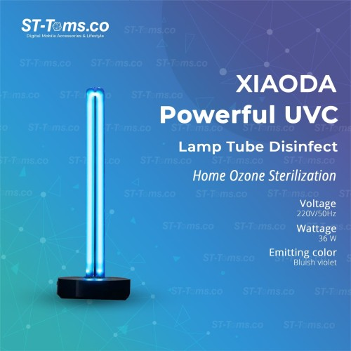 Foto Produk Xiaoda UVC Sterilizing Germicidal Ozone Body Induction 36W dari ST-Toms.co