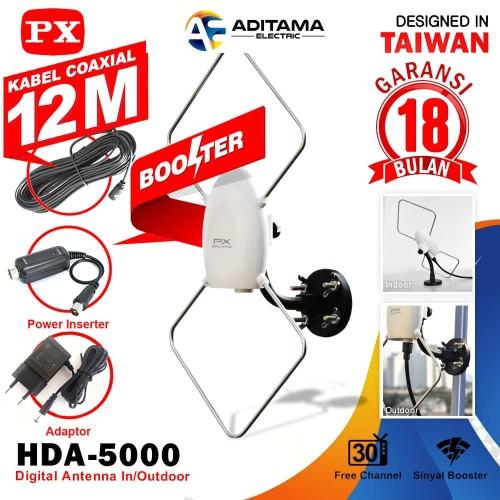 Jual Antena Tv Digital Indoor Outdoor Px Hda 5000 Antena Tv Px Hda 5000 Ori Jakarta Barat Aditama Electric Tokopedia