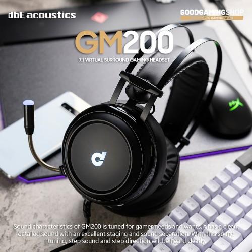 Foto Produk Dbe Accoustic GM200 Gaming headset dari GOODGAMINGM2M