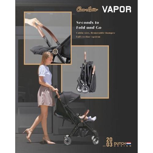 Foto Produk Stroller Cocolatte Vapor Kereta Dorong Bayi Cabin Size Autofold - Biru dari Kemenangan Baby Shop