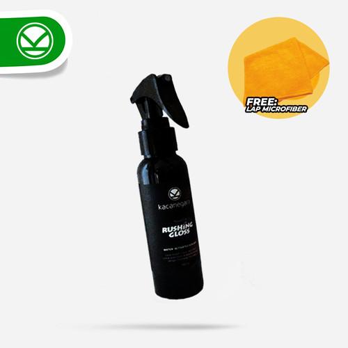 Foto Produk Pembersih Pengkilap Bodi & Kaca Hidrofobik Efek Daun Talas - 100 ml dari Kacanegara Cleaner