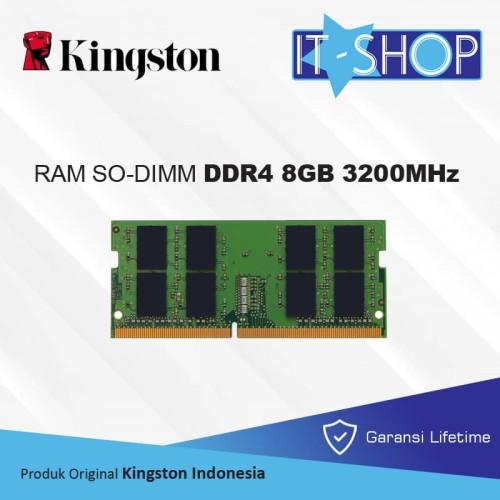 Foto Produk Kingston Memory Sodimm 8GB DDR4 3200 - KVR32S22S8/8 dari IT-SHOP-ONLINE