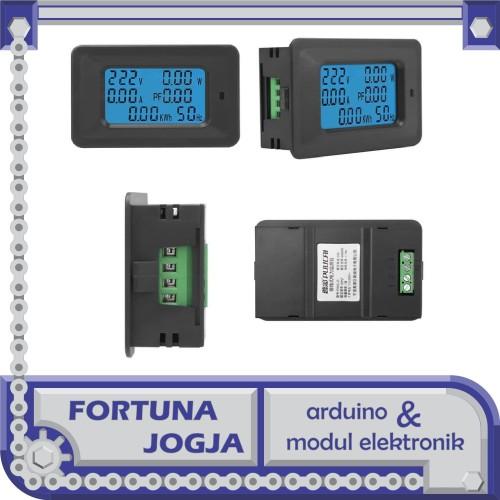 Foto Produk 6 in 1 Volt - Ampere - Watt - Cos-phi - Frekuensi - kWh meter dari Fortuna Jogja