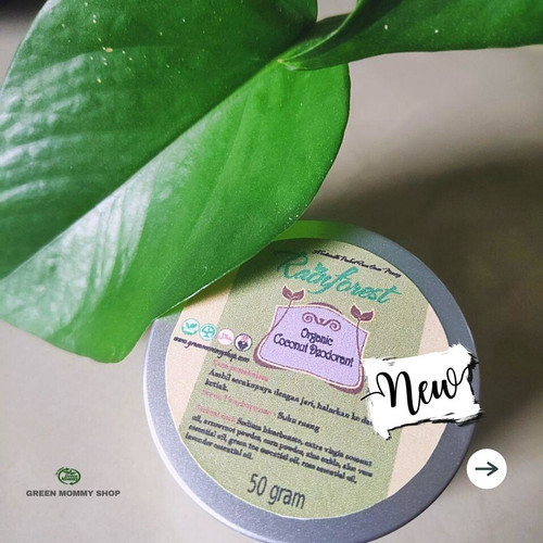 Foto Produk Coconut Deodorant - 50gr dari Green Mommy Shop
