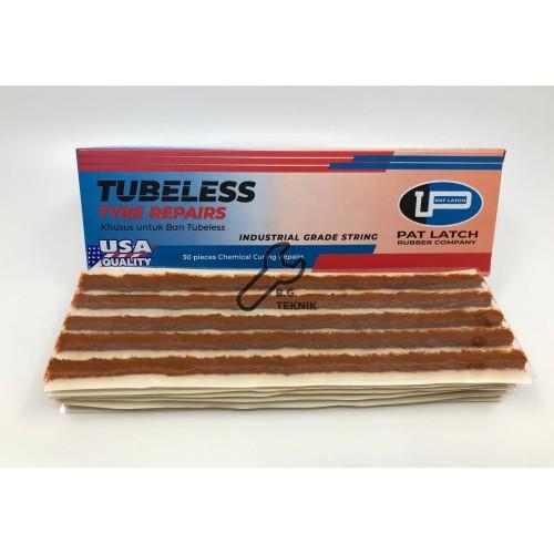 Foto Produk Pat Latch USA MADE karet tambal tubeless cacing tubles ORI dari Bang teknik
