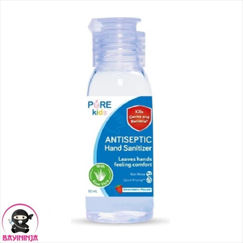 Foto Produk PURE KIDS Antiseptic Hand Sanitizer Strawberry 50 ml dari BAYININJA