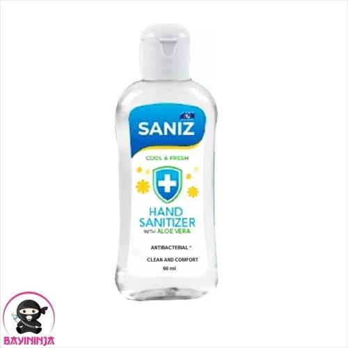 Foto Produk IKA SANIZ Hand Sanitizer Antibacterial Cool Fresh 60 ml dari BAYININJA