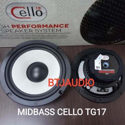 Foto Produk SPEAKER MIDBASS CELLO SC17 UKURAN 6,5 INCH (POWERFULL & GREAT VOCAL) dari BTJ AUDIO