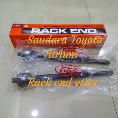 Foto Produk Rack end long tierod tie rod etios valco merk 555 japan dari Saudara toyota atrium