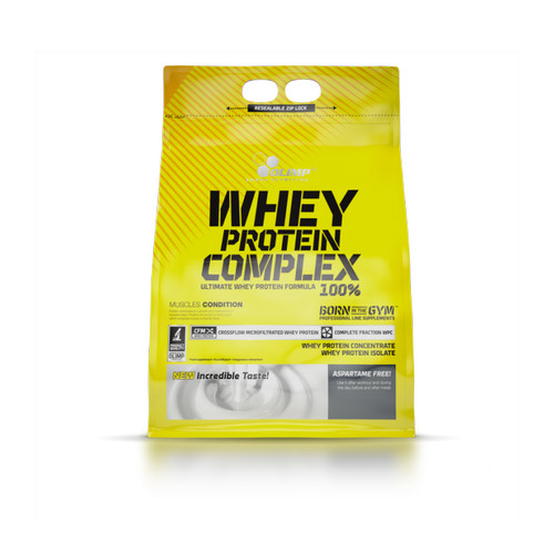 Foto Produk Olimp Whey Protein Complex 100% 2270gr 5lbs Whey Isolate Concentrate dari Mangga Dua Store