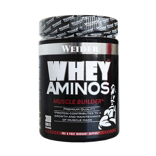 Foto Produk Weider Whey Aminos Tablet 300tabs Amino Bentuk Pahat Otot Muscle dari Mangga Dua Store