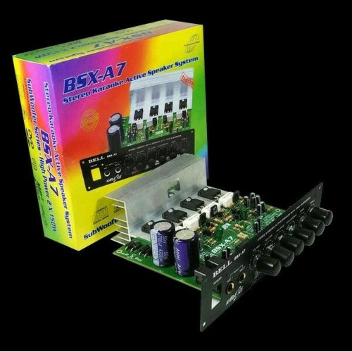 Foto Produk Kit Power Amplifier Active BELL BSX-A7 Stereo - BELL BSX A7 dari NAYLIL STORE99