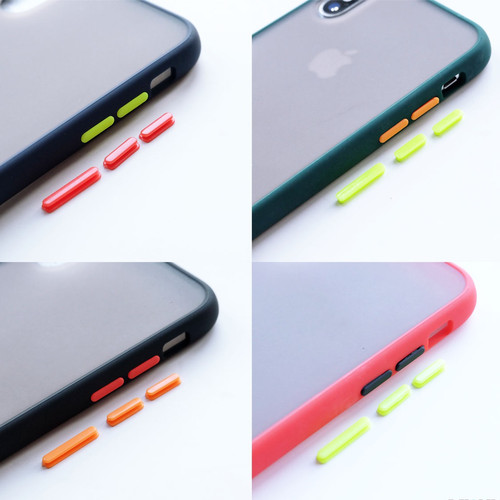 Foto Produk Hybrid Case + FREE extra tombol 1 warna - for iPHONE & OPPO dari Pipop Case