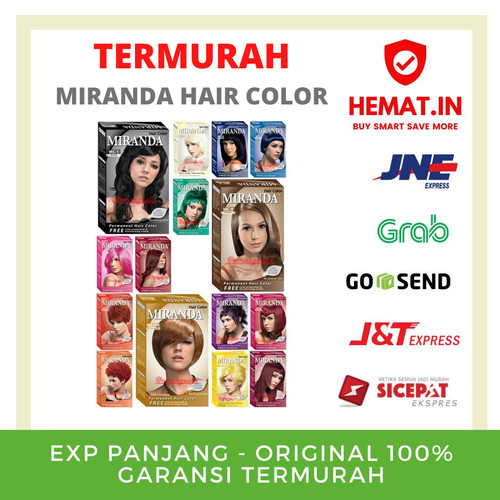 Foto Produk Miranda Hair Color/Semir Rambut/Cat Rambut - MC-1 (Black) dari Hemat Indonesia