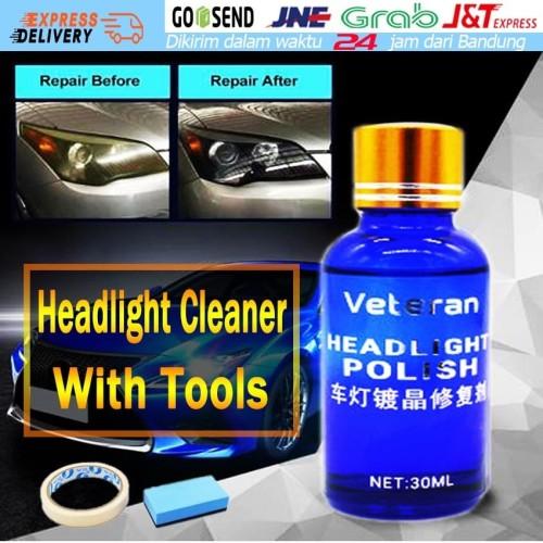 Foto Produk Car Headlight Restoration Kit Auto Headlight Renovation Repair Agent - Biru dari Soya Global
