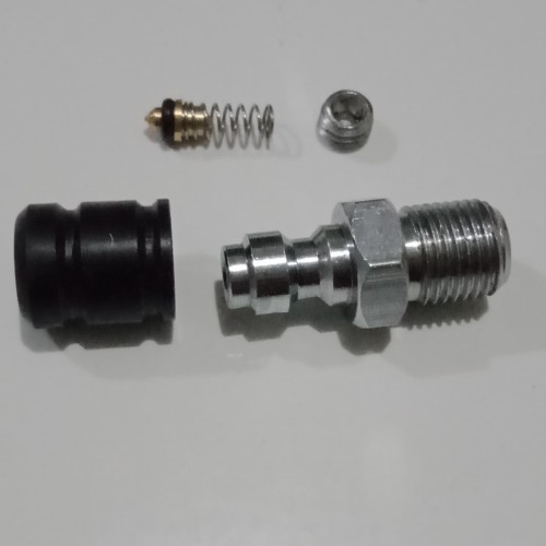 Foto Produk Mini Kupler PCP Jantan /Coupler Pengisian Gas predator, M10x1 - Eceran dari Tisara Sukses